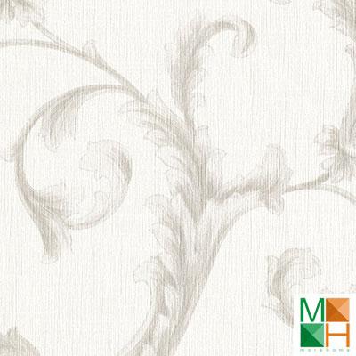 Giấy dán tường nhật bản họa tiết màu trắng BA6279