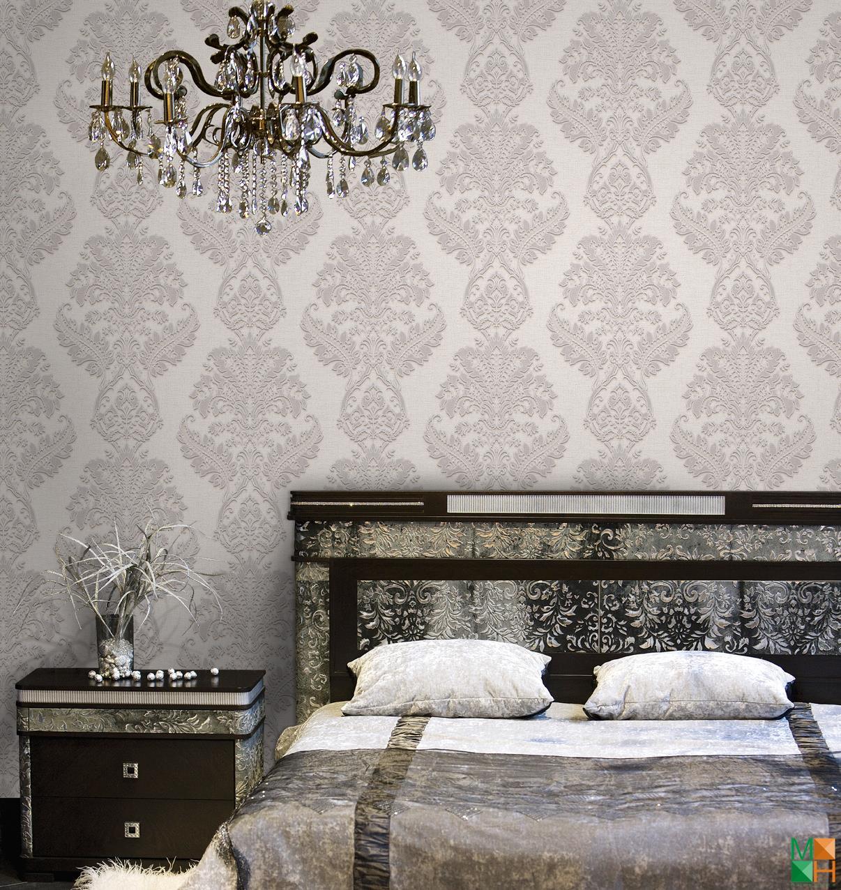 Giấy dán tường phòng ngủ điểm nhấn đẹp