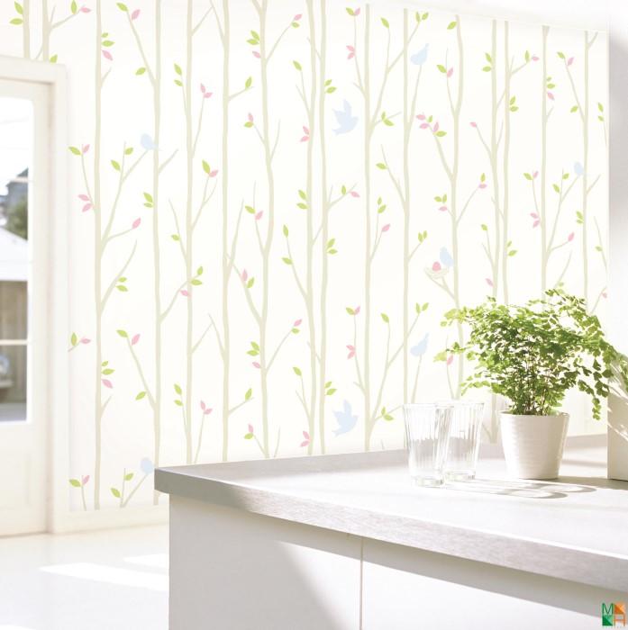 Các mẫu giấy dán tường đẹp cho phòng ngủ
